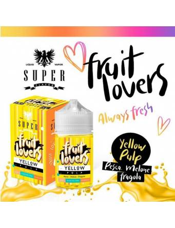 "Super Flavor ""Fruit Lovers"" YELLOW PULP 50ml Mix&Vape"