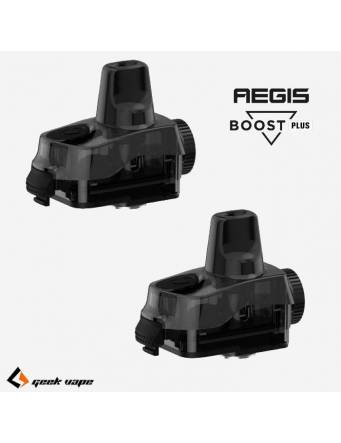Geekvape AEGIS BOOST PLUS pod 5,5ml (2 pz – NO COIL) quantità