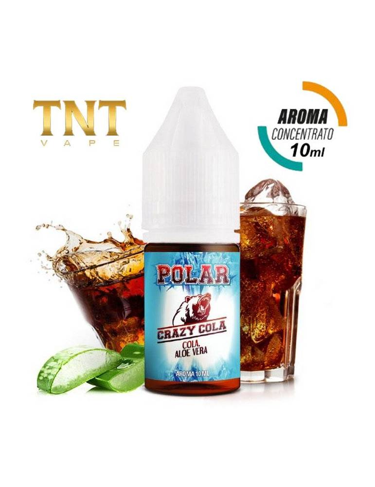 TNT Vape Polar – CRAZY COLA 10ml aroma concentrato