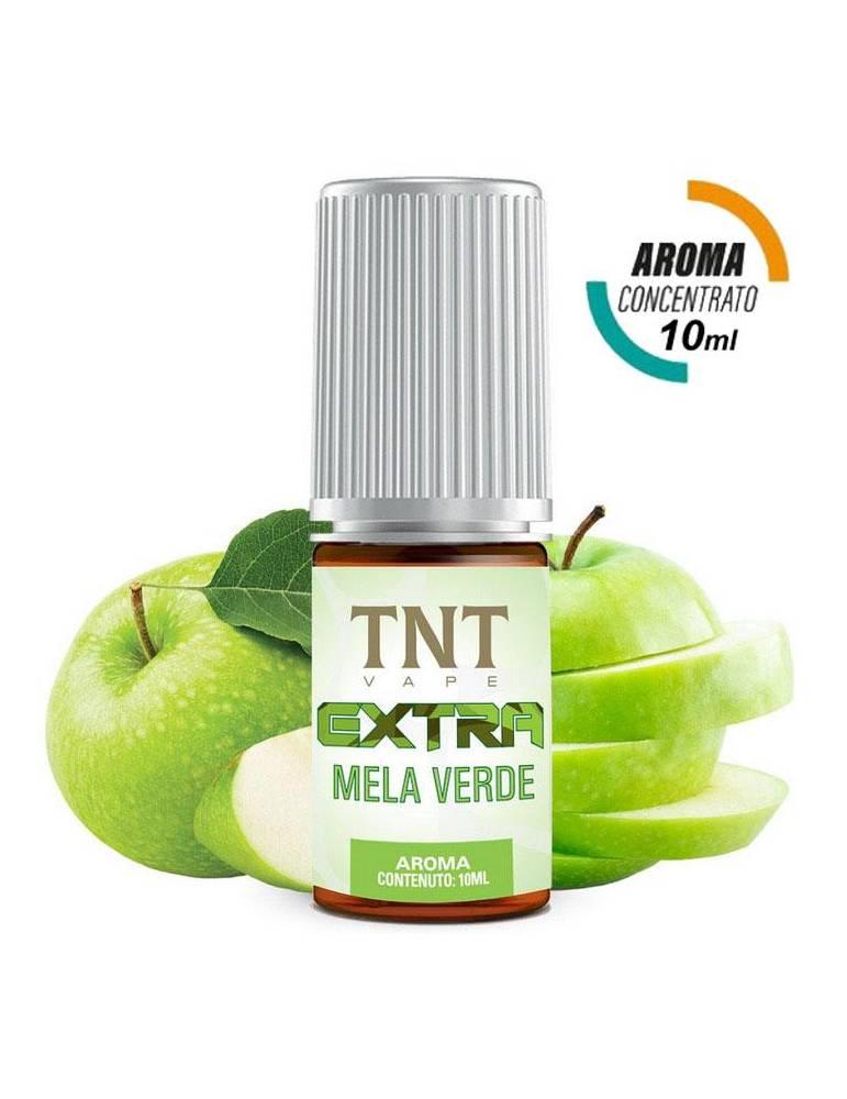 TNT Vape Extra MELA VERDE 10ml aroma concentrato