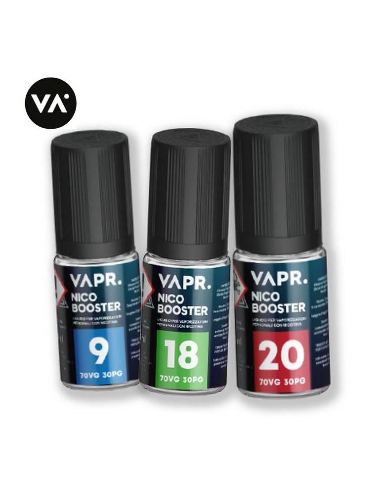 VAPR. Base Nicobooster 10ml 70/30 (basetta neutra con nicotina)
