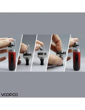 VooPoo V.SUIT pod kit 1200mah/40W Riempimento