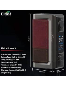 Eleaf ISTICK POWER 2 Misure