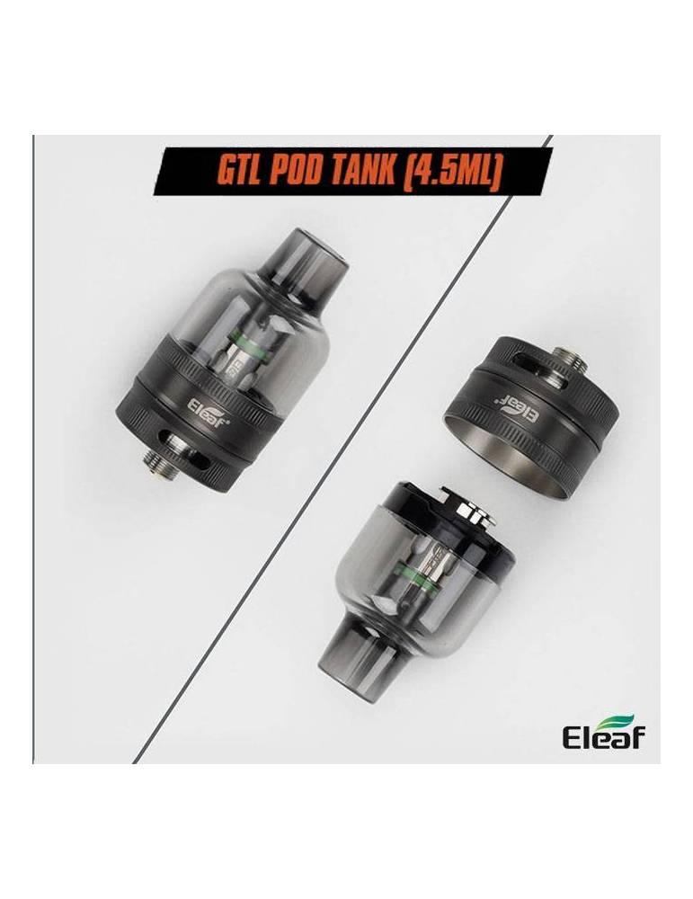 Eleaf GTL pod tank DTL 4,5ml/ø26mm (1pz, con base) lp