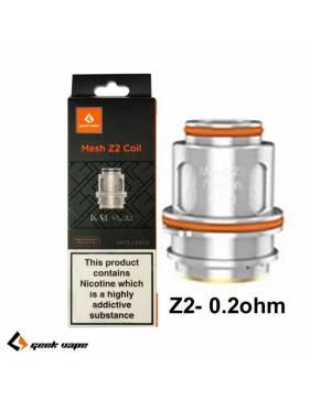 Geekvape Z2 coil DTL 0,2ohm/70-80W (1 pz) per Zeus tank serie